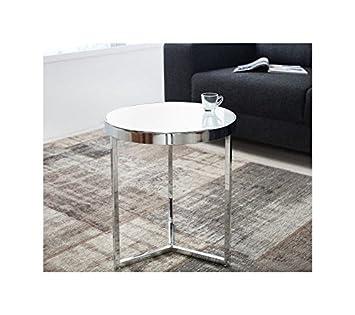 Glastisch rund for Designer glastisch rund