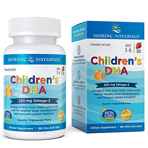 Nordic Naturals Childrens DHA Strawberry product image