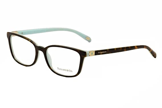 b03a0b93b730 TIFFANY Eyeglasses TF 2094 8134 Havana Blue 54MM at Amazon Women s ...