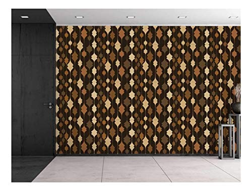 Large Wall Mural Abstract Seamless Pattern Vinyl Wallpaper Removable Decorating