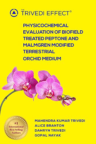 (Physicochemical Evaluation of Biofield Treated Peptone and Malmgren Modified Terrestrial Orchid Medium)