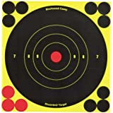 "6"" Round Birchwood Casey Shoot - N - C Self - Adhesive Targets"
