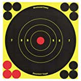 Birchwood Casey Shoot-N-C 6-Inch Round Target (60 Sheet Pack), Outdoor Stuffs
