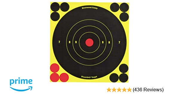 60 Sheet Pack SHOOT-N-C Birchwood Casey 6-Inch Round Target