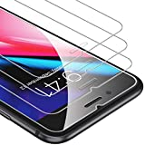 UNBREAKcable Screen Protector for iPhone 8 Plus/7 Plus [3-Pack], 9H Hardness Tempered Glass iPhone 8 Plus / 7 Plus, Case Friendly, 2.5D Round Edge, Anti-Bubbles, Easy Install Tool, 3D Touch Support