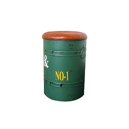Amazing Amazon Com Nyjs Bar Stool Bar Chair Oil Barrel Bar Stool Ncnpc Chair Design For Home Ncnpcorg