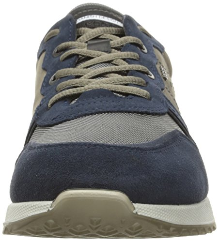 ECCO Men's Sneak Tie Fashion Sneaker Marine/Gravel hot sale online buy online outlet outlet shop aT5nw