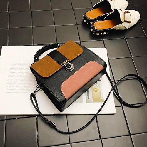2 Stil UFACE sintético Braun 4854010001 Mujer Rucksackhandtaschen Cuero cHYBwYWOn
