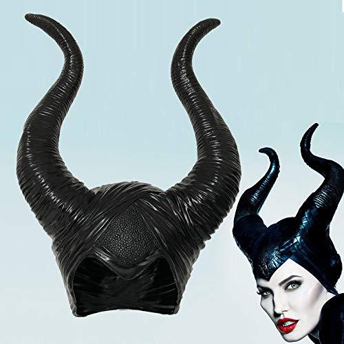 Skjind Cornes maléfiques de déguisement pour Halloween/cosplay