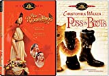 Fairy Tale Collection - Red Riding Hood & Puss in Boots 2-DVD Movie Bundle