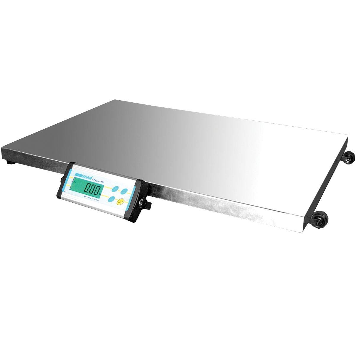 Adam Equipment CPWplus 300L Large Platform Floor Scale, 660lb/300kg Capacity, 0.2lb/100g Readability