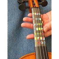 Guía de dedos sin trastes para violín de tamaño completo (4/4)