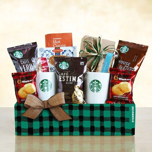 A Starbucks Winter | Holiday Coffee Gift Basket