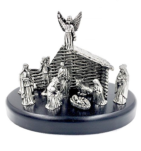 Nativity Figurine Set made of Pewter