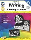 Writing Learning Stations, Grades 6 - 8 (English Language Arts)