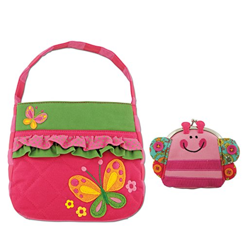 Quilted Butterfly Purse with Signature Butterfly Coin Purse