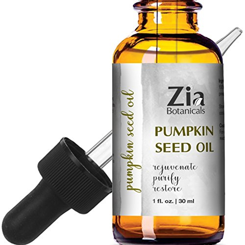 PUMPKIN SEED OIL by Zia Botanicals, 100% Pure Natural Cold Pressed Organic Oil, 1 oz