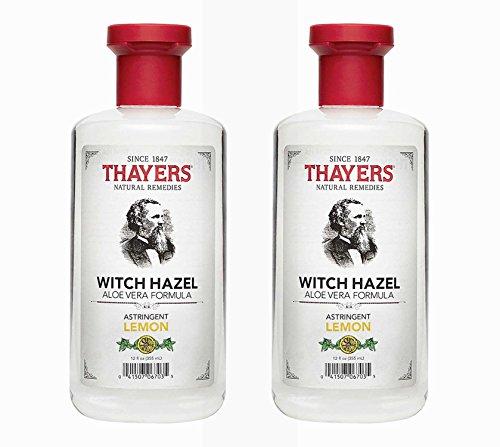 Thayer's Witch Hazel w/Aloe Vera - Lemon - 12 oz - 2 Pack ()