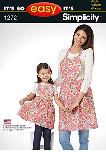 Apron Patterns Children (Simplicity Creative Patterns 1272 It's So Easy Child's and Misses' Aprons, Size: A S - L / S - L)