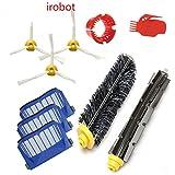 iRobot 600 Ersatzteile Wartungskit Kantenreinigungsbürsten für 650 620 651 621 615 616 605 Serie 10 stück Reinigungskit MiFo