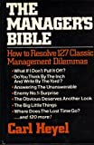img - for The Manager's Bible by Carl Heyel (1981-09-03) book / textbook / text book