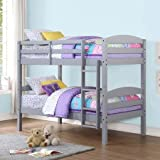 Best Price Mainstays Hot Twin over Twin Wood Bunk Bed Amazing Multiple Finishes Adapted Beautiful Comfortable Cool Nice Cheap Not Expensive Adjustable Kids Young Free Shipping Two Beds Convert Wood Small Badrooms Available