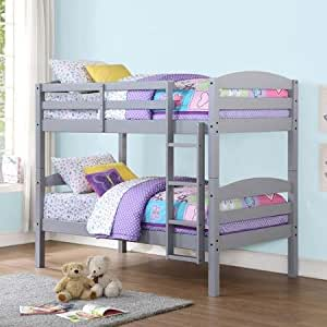 best price mainstays hot twin over twin wood bunk bed amazing multiple finishes. Black Bedroom Furniture Sets. Home Design Ideas