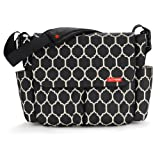 Skip Hop Dash Messenger Diaper Bag, Onyx Tile, Bags Central