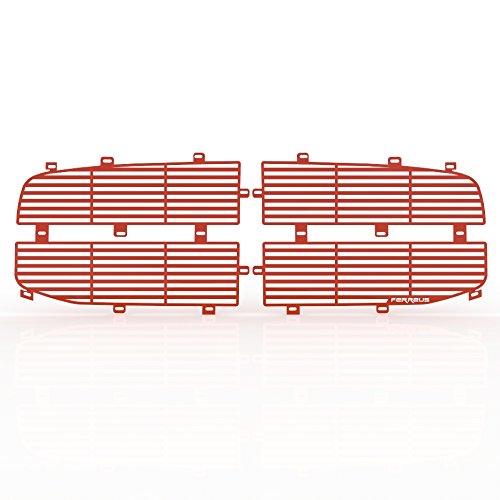 NBA Rico Industries  Laser Cut Inlaid Standard Chrome License Plate Frame Red Insert Miami Heat