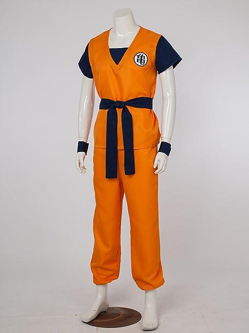 07bb1650d43 Amazon.com  DRAGON BALL Z Son Goku Turtle senRu Cosplay Costume Outfits  2565 (XXL)  Clothing
