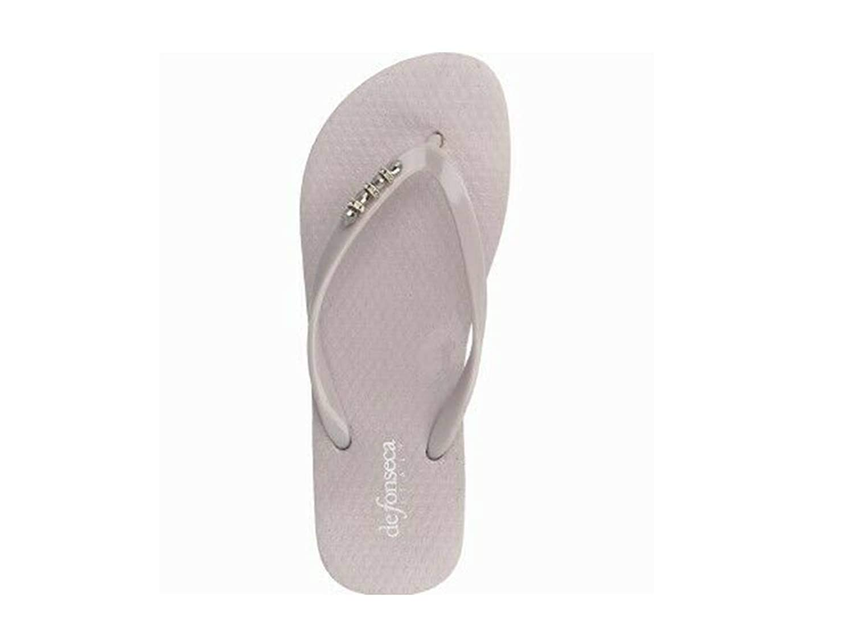 DE Fonseca Woman Gray Rubber flip-Flop