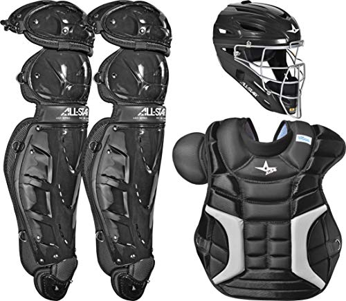 All-Star Classic Pro Catcher's Set (Black - Adult)