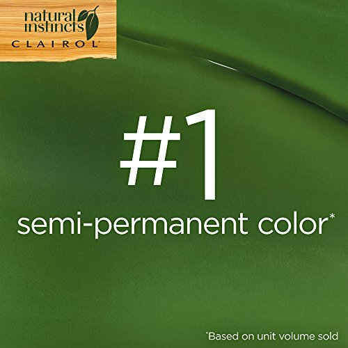 Clairol Natural Instincts Semi-Permanent Hair Color (Pack of 3), 5C Brass Free Medium Brown Color, Ammonia Free, Lasts for 28 Shampoos by Clairol (Image #8)