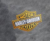 Harley Davidson Motorcycle Comfortable Kids Adult Game Outdoor Indoor Lounge Chair Cover + Inner Bag (Without Beans)