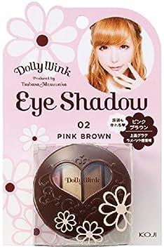 DOLLY WINK Koji Eye Shadow, 02 Pink Brown