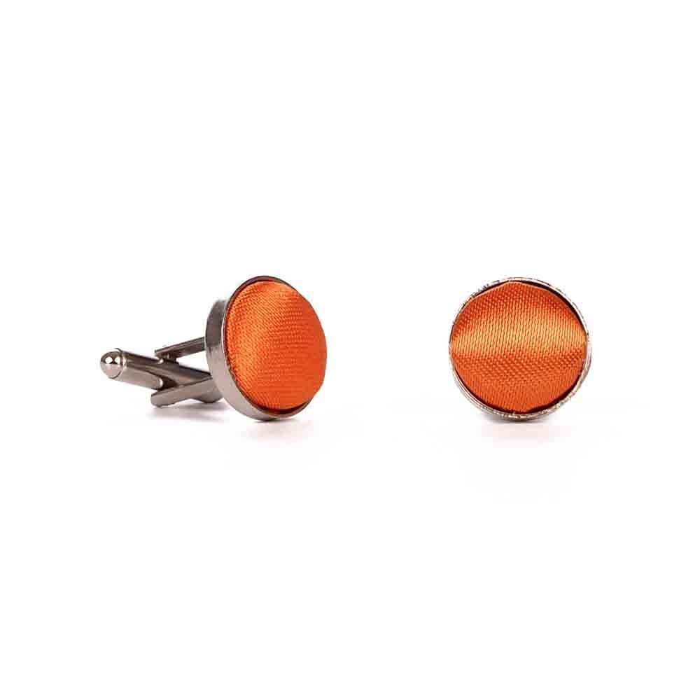 cravateSlim Bouton de Manchette Orange