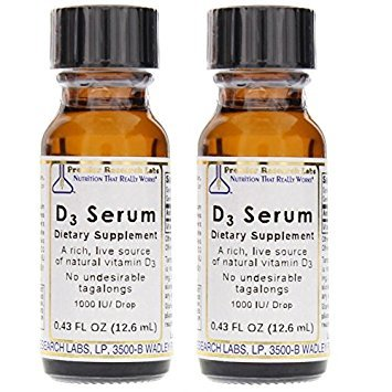 D3 Serum - Premier Research Labs - (Pack of 4) .43 oz Each
