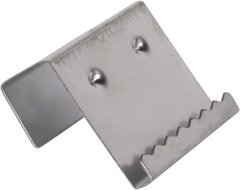 Rayher 6239900 attache pour ch/âssis 1 7 cm sB lot de 2 barres de porte