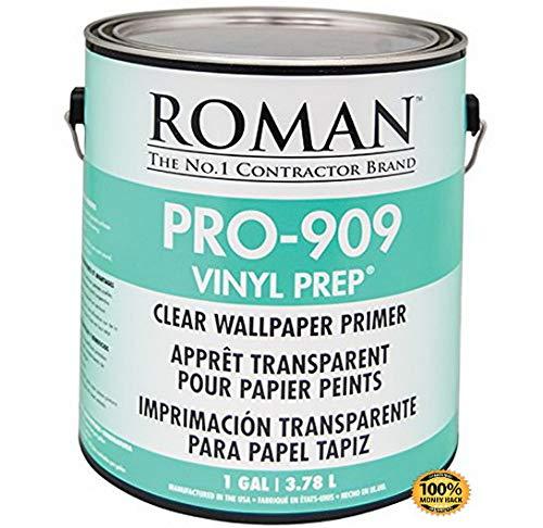 ArtMuseKits 010201 PRO-909 Vinyl Prep Acrylic Wallpaper Primer, 1 gal