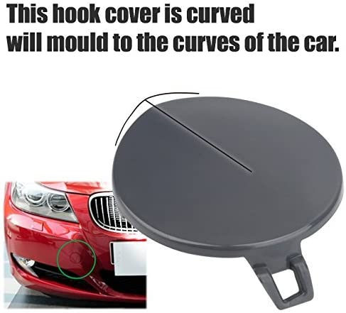 Car Front Bumper Tow Hook Cover for BMW 3 Series E90 E91 2009-2012 51117207299