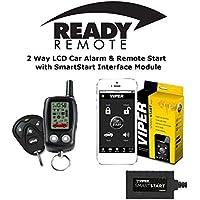 Ready Remote 5303R 2 Way Car Alarm & Remote Starter w/ Viper VSM200 SmartStart Module