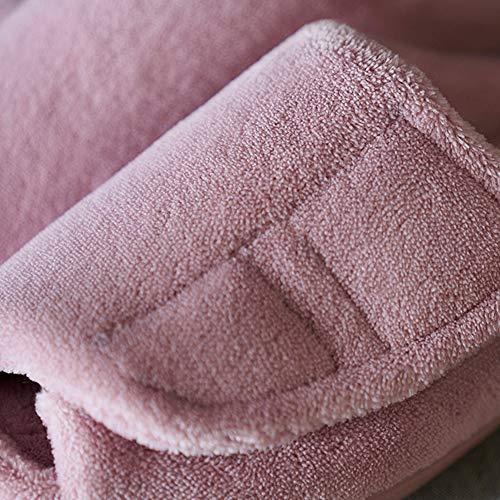 Toe Slippers Rubber Coffee Sole Shallow Skid Anti Foam Open Memory Fleece O1wnff7q
