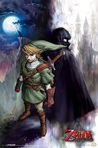 The Legend of Zelda Twilight Princess Link Video Game Gaming Poster 12x18 inch