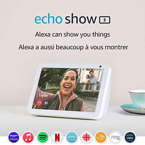 Echo Show 8 – HD 8″ smart display with Alexa – Sandstone