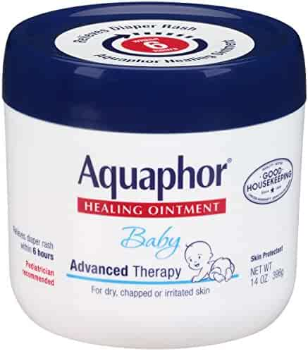 Aquaphor Baby Advanced Therapy Healing Ointment Skin Protectant 14 Ounce Jar