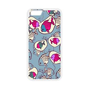 Case Cover For Apple Iphone 4/4S Sea creatures Phone Back Case Use Your Own Photo Art Print Design Hard Shell Protection FG086275