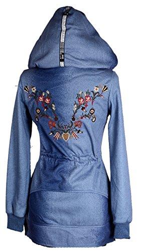 Blusa para Chaqueta Style Grisodonna mujer 84qaSxWw