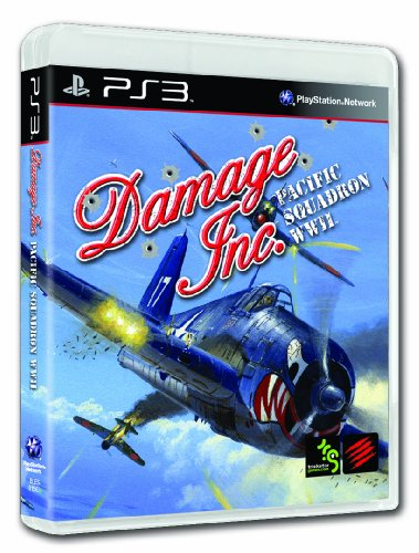 Damage Inc., Pacific Squadron WWII - Playstation 3 (Ps 3 Flight Sim)
