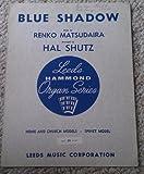 img - for Blue Shadow (Leeds Hammond Organ Series) book / textbook / text book
