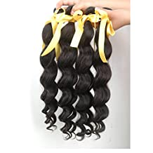 JF® India curtain made by the mechanism of human hair loose wave , 10